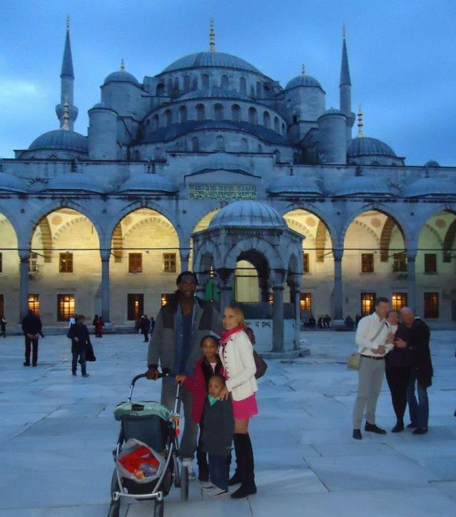 Visiting the Blue Mosque in Istanbul