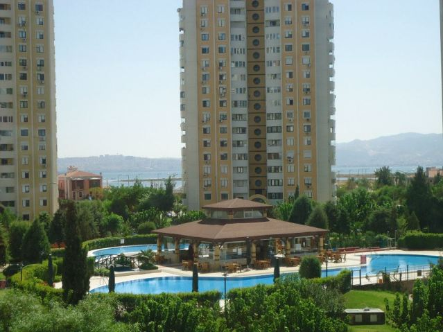 One of the nicer places we've lived, in Izmir, Turkey, and the only place we've had a pool
